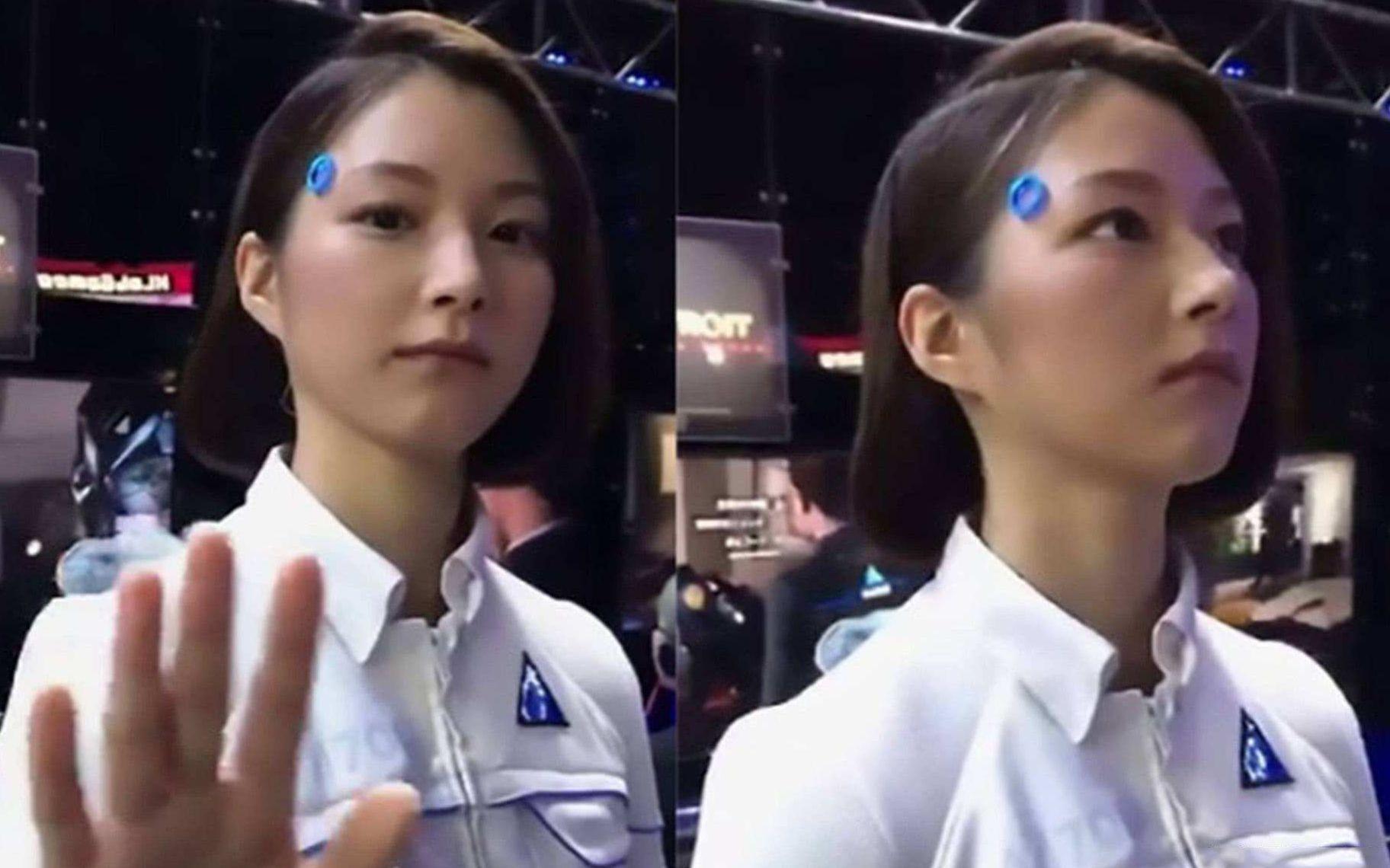 """日本""""女性机器人""""彻底火了,看完内部结构,网友:精巧逼真啊"""