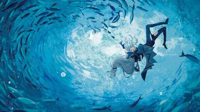 【涌潮悲歌】献给斯卡蒂的《海底》(凤凰传奇版/填词)【明日方舟】