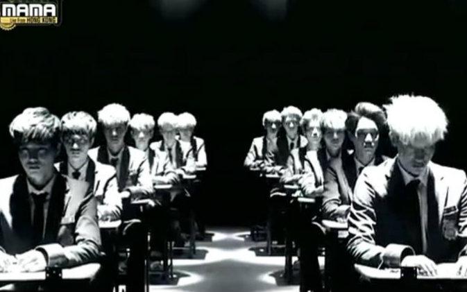 【EXO】EXO十二人时期经典舞台/2013MAMA颁奖典礼/Wolf&Growl/