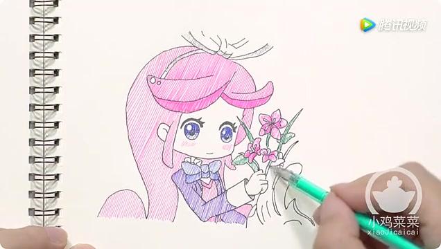 如何绘画小花仙中可爱的人物 千韩
