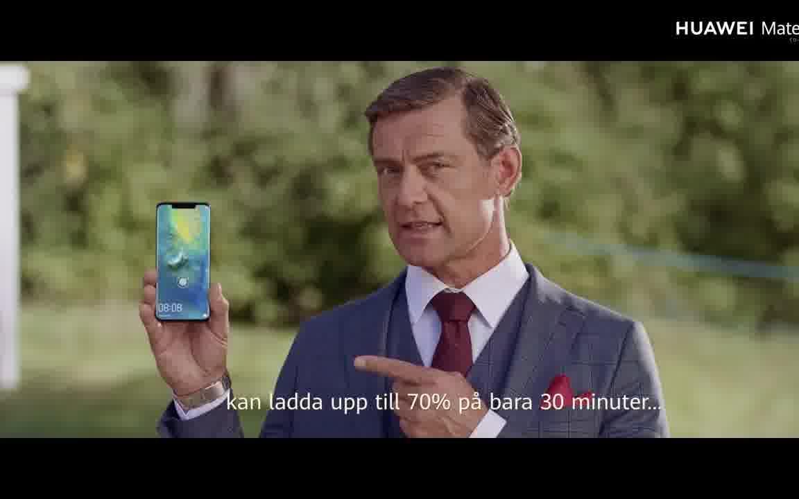 华为Mate20 Pro 创意广告