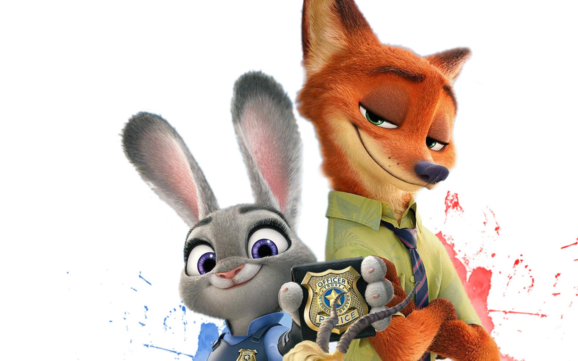 【疯狂动物城】《小狐狸》完全就是狐兔cp爱的主题歌图片