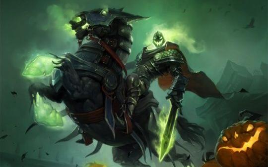 [魔兽世界]2017万圣节 休闲玩家再一次的直播摧毁无头骑士的缰绳
