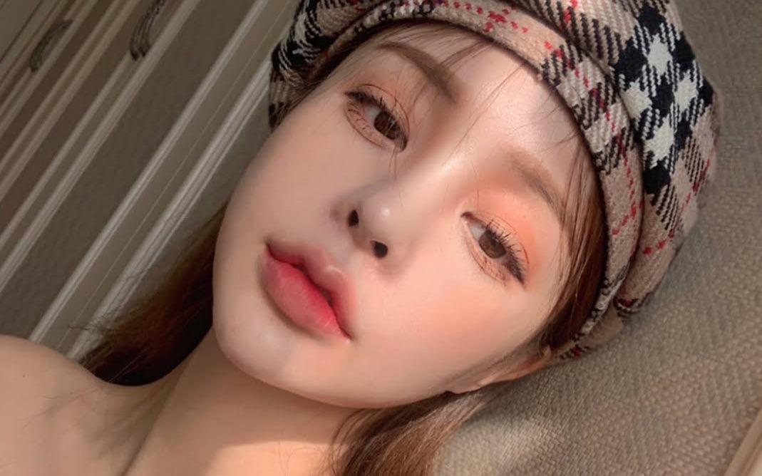【韩国美妆】ins网红的暖色调日常妆容分享 | parkain