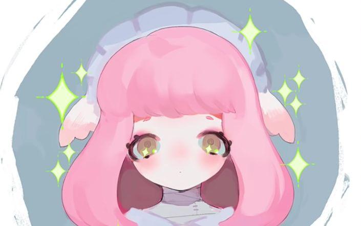 WWW_MEME11_COM_pink hair meme-chan