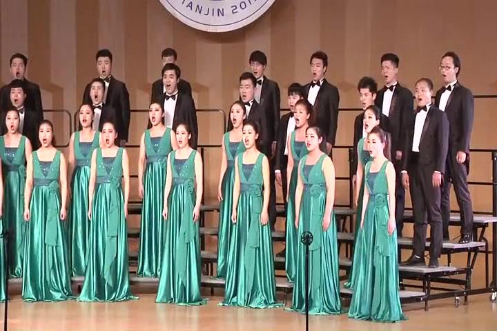洛阳师范学院合唱团——《龙的传人》