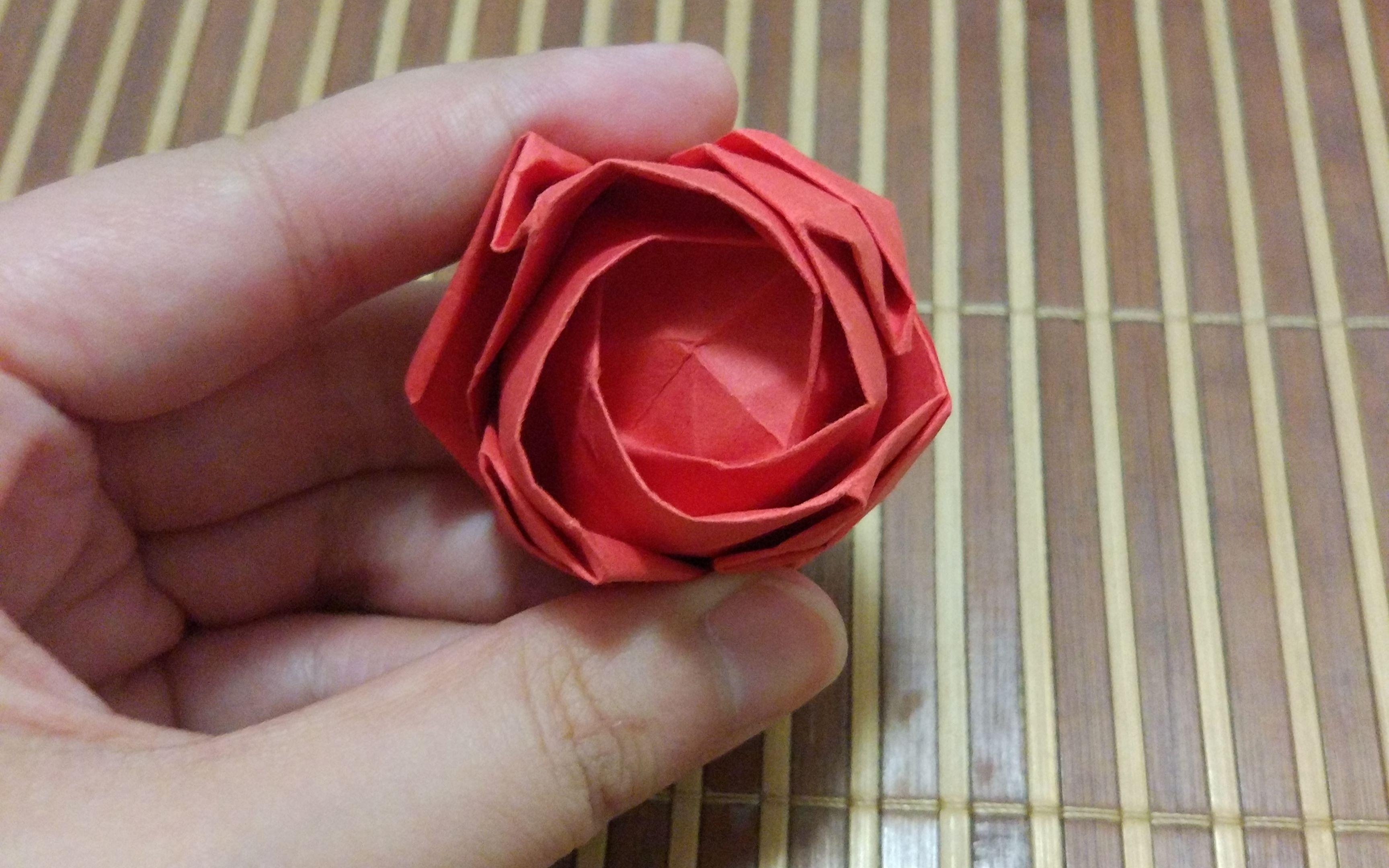 【折纸】川崎玫瑰