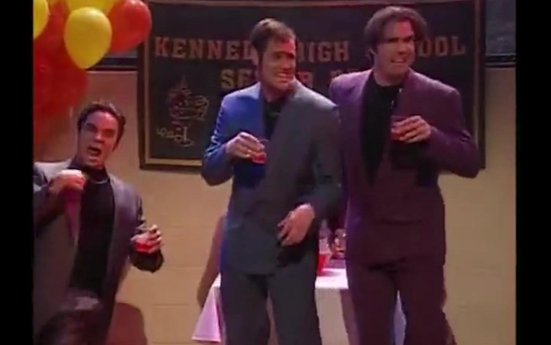 鬼畜改版,星期六之夜:金凯瑞疯狂三人组-今晚摇起来
