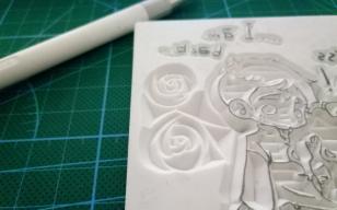 云弦:玫瑰留白的刻法