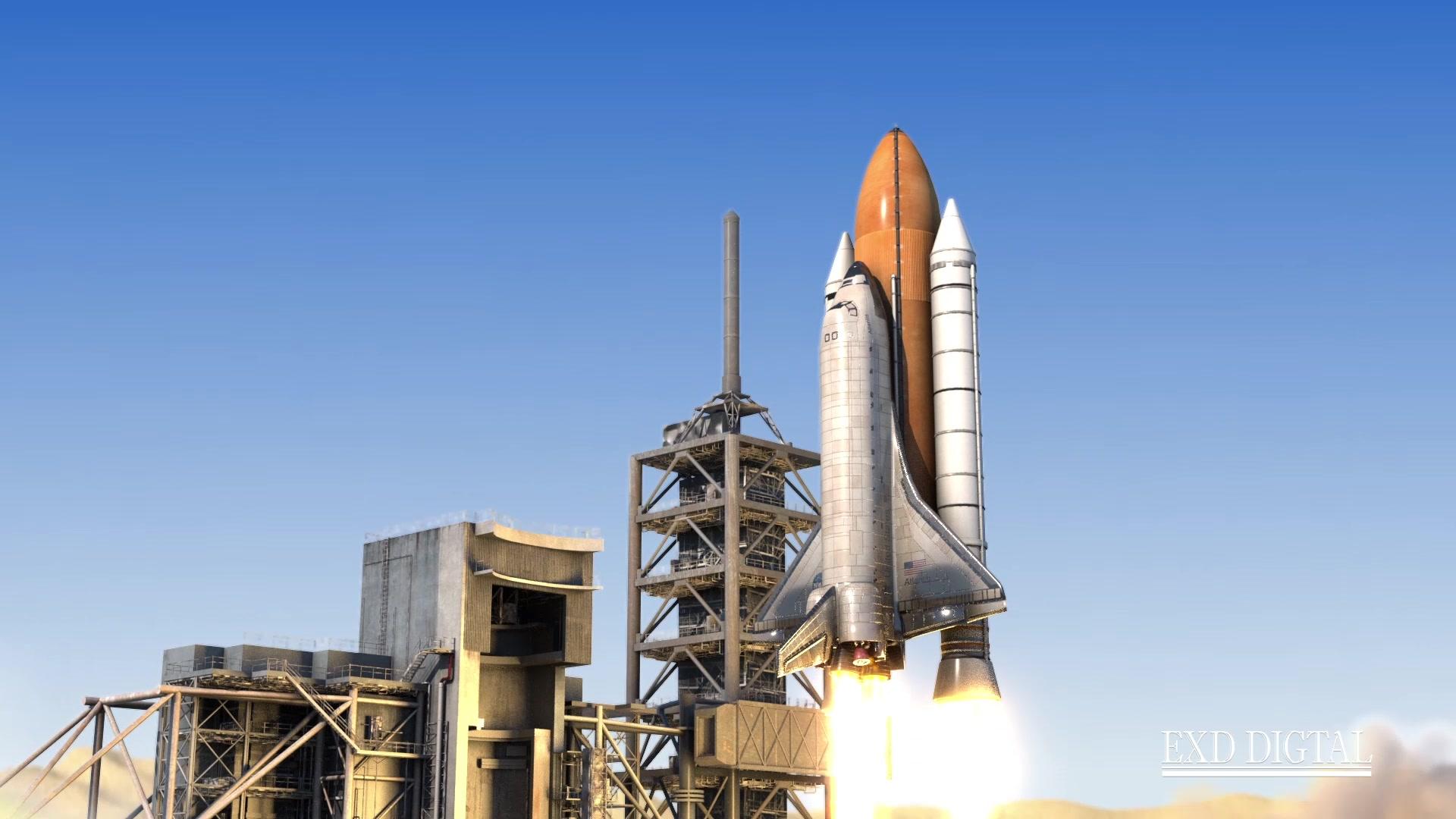 火箭发射-C4D-tfd插件