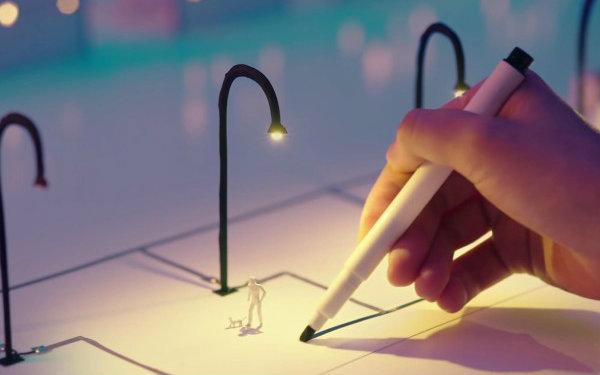 利用导电笔的奇妙功能