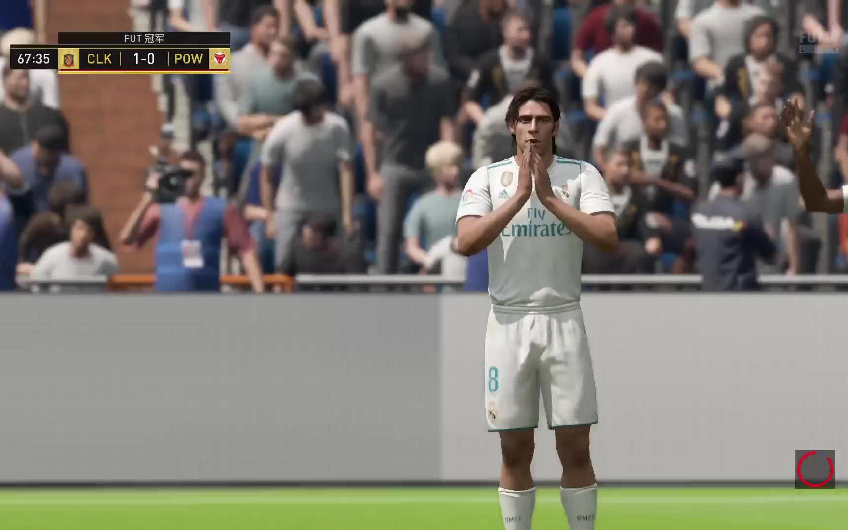 FIFA18 周赛 433(2)阵型两场