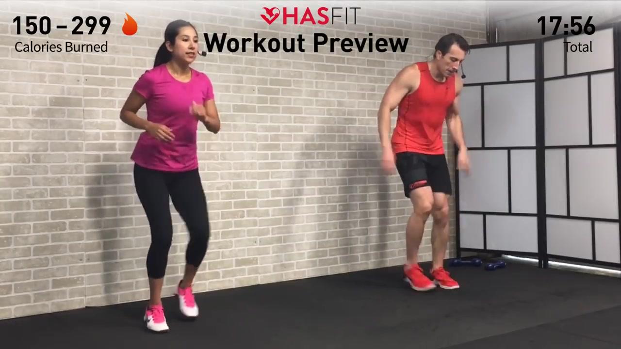 【HASfit】20分钟家庭HIIT训练