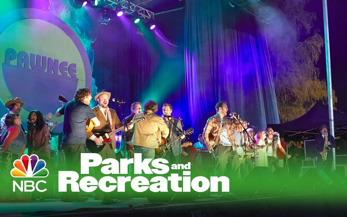 【CHRISPRATT】【Parks and Recreation】 【自译】 5000 candles in the wind帕帕现场演唱会