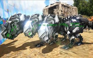 恐龙��h�_方舟 生存进化丨96 三周年活动收尾 泰克霸王龙宝宝 周年配色恐龙?