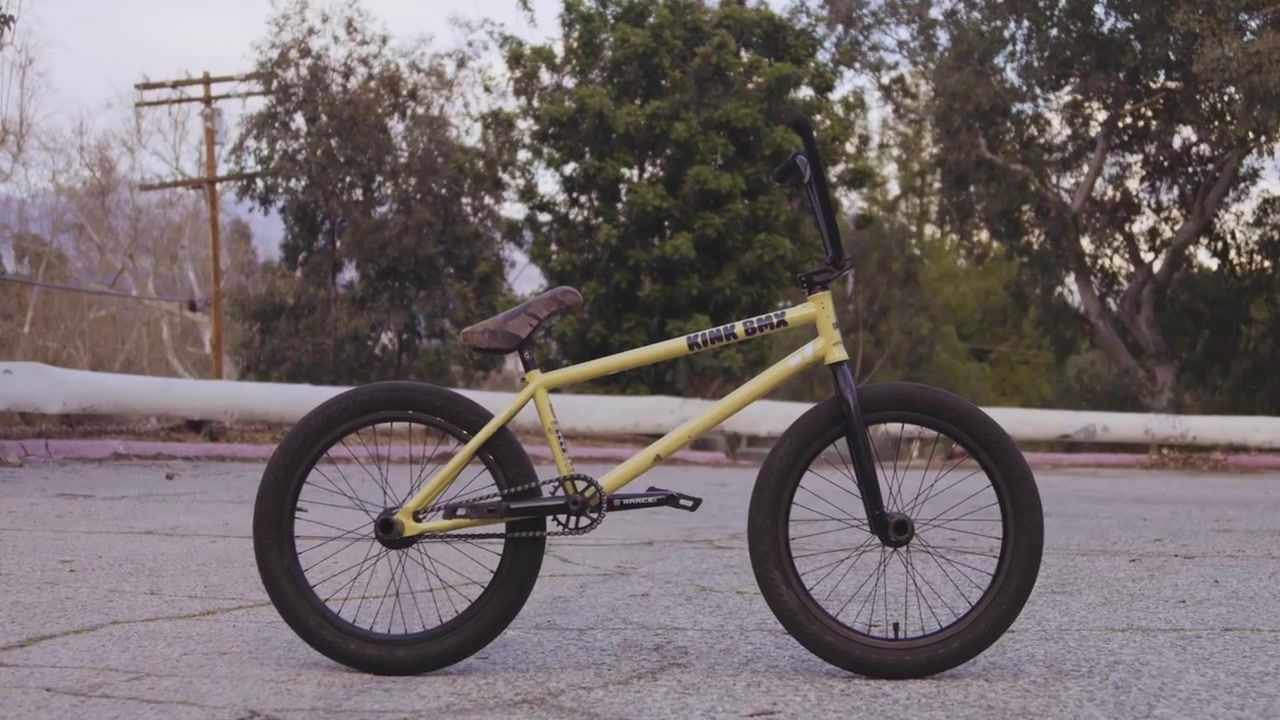 Kink BMX-Nathan Williams2019签名款车架上线