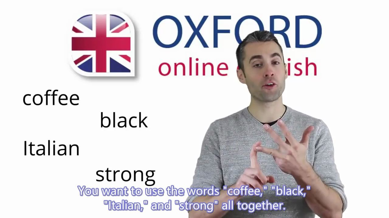 【英音】英语语法讲解 | Adjective Order in English