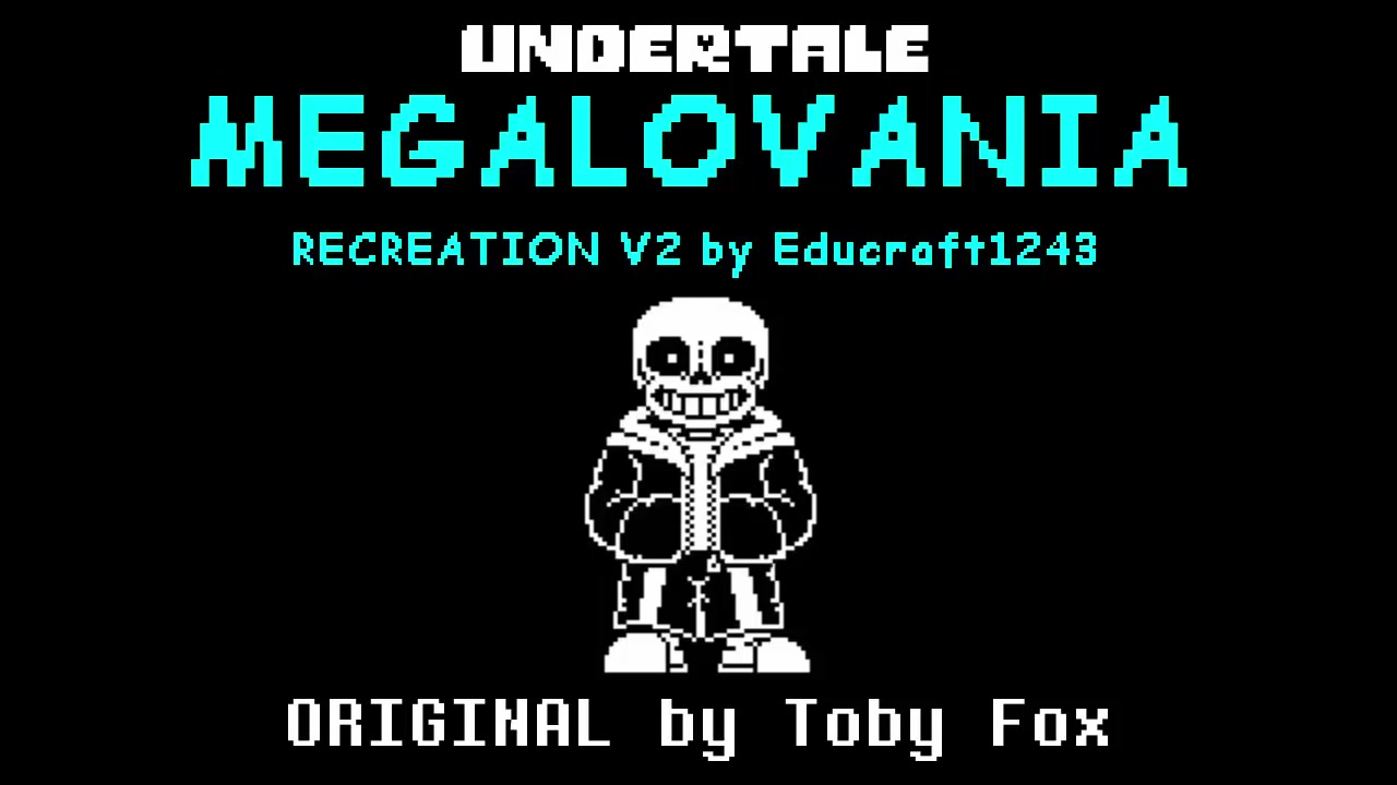 Undertale - MEGALOVANIA RECREATION (V2)