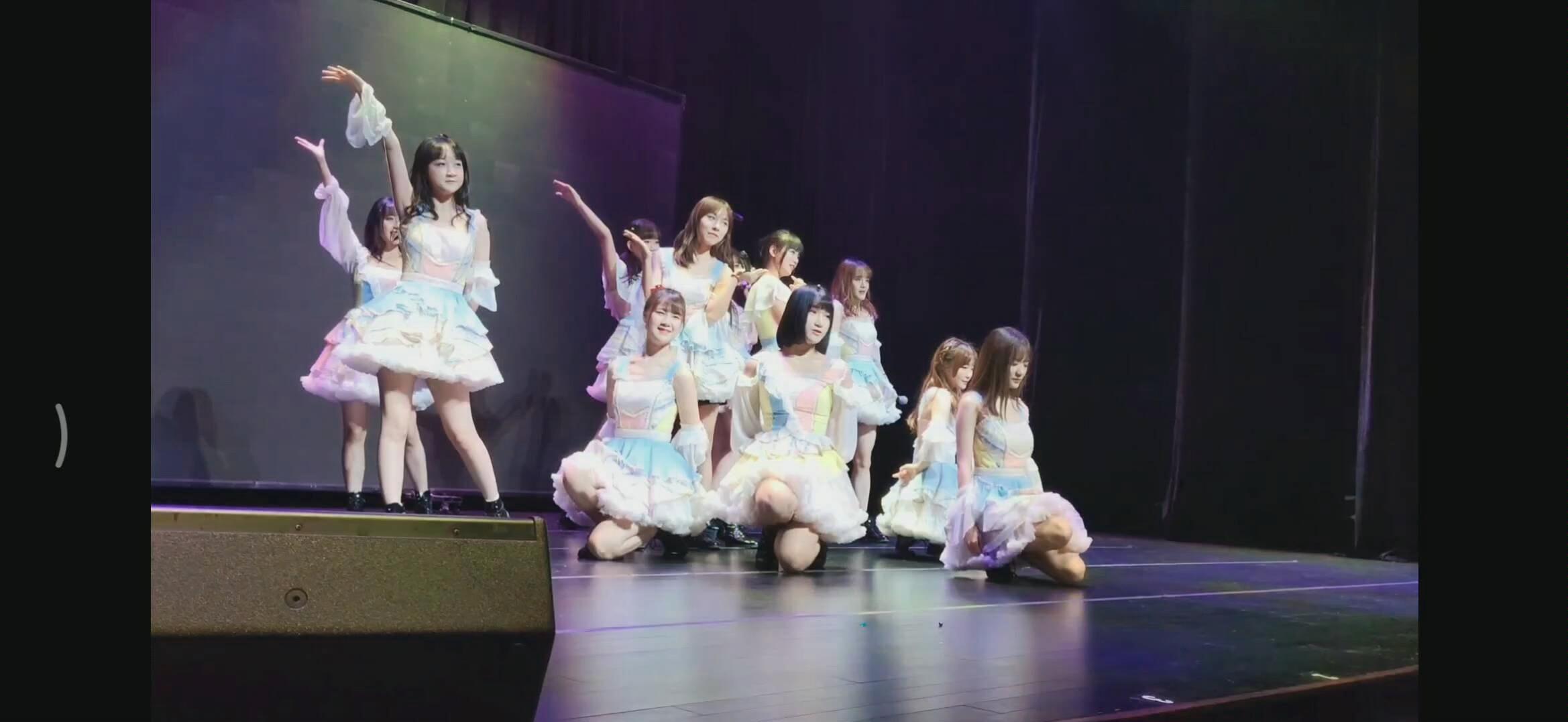 2019年6月15日重演时代艺术中心CKG48奇幻的加冕旅程公演《第一人称》