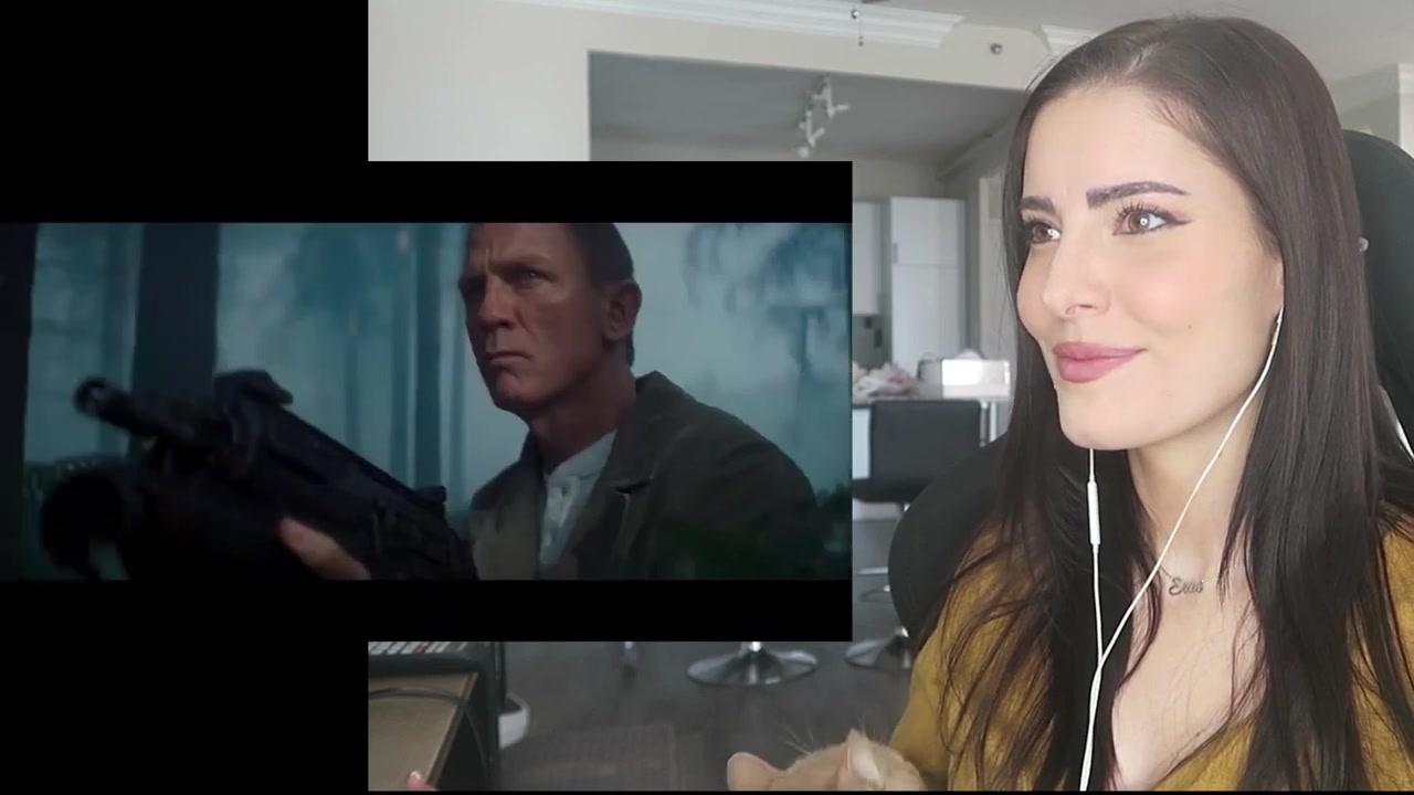爱4官方预告片_【且看美女系列】女神Erin姐姐看最新 007 《无暇赴死》预告片的 ...