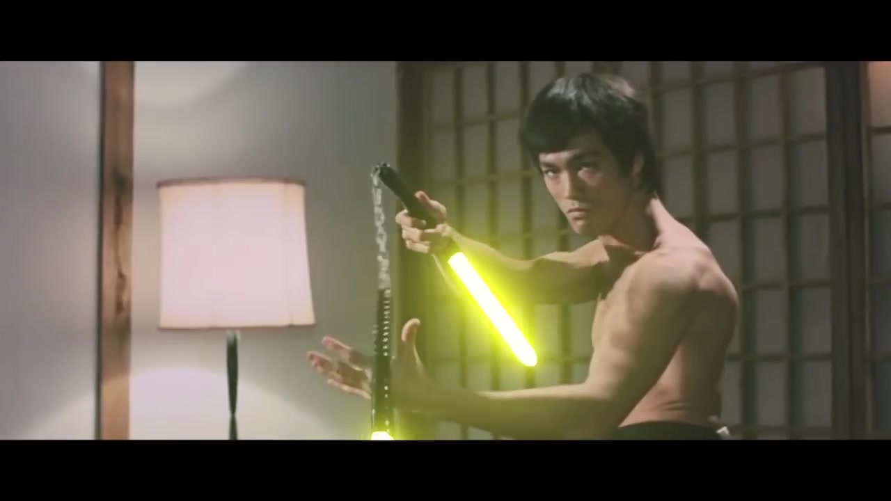 【转】 Bruce Lee Lightsabers Scene Recreation