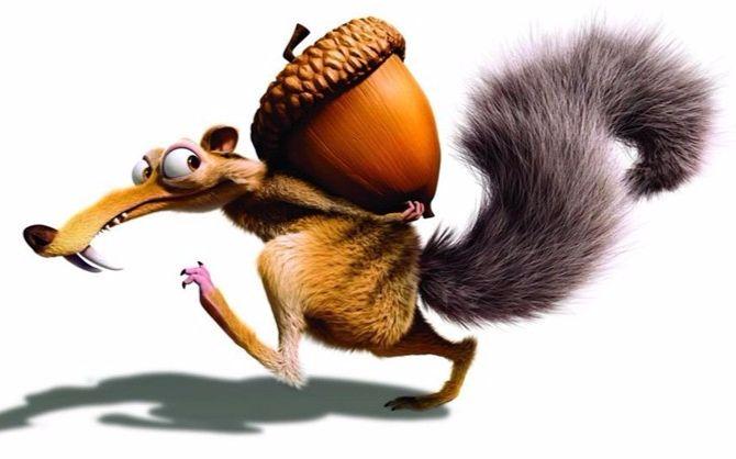 冰川时代 松鼠_【冰河世纪】冰川时代5部爆笑小松鼠合集_你以为我是来看电影的 ...