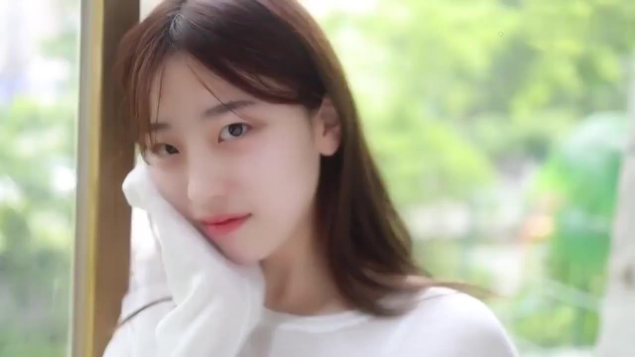 韩国清纯美女写真  这像极了春天