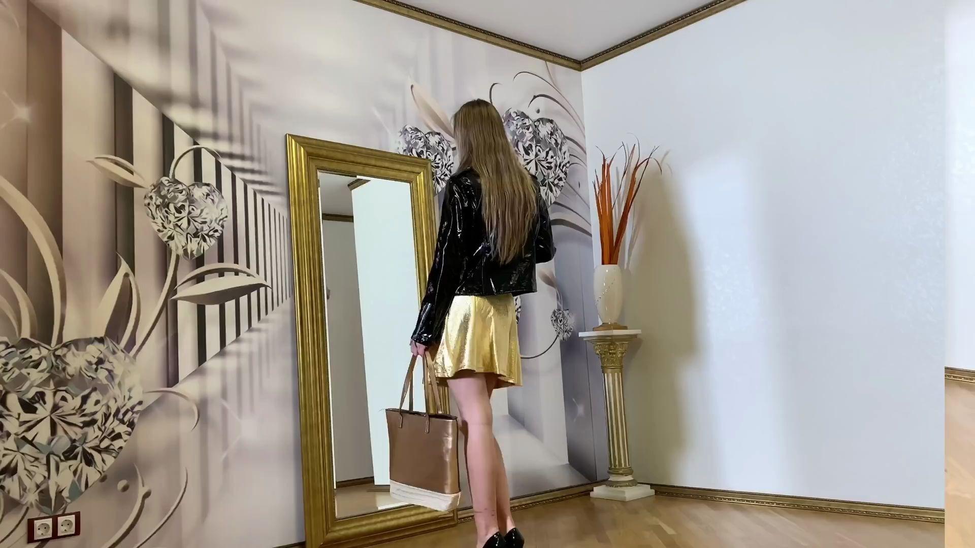 俄罗斯体操小美女模特Josephine的高跟鞋写真摄影