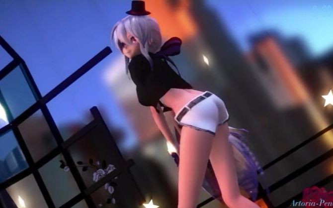 3d mmd lips are movin with the busty touhou girls 5