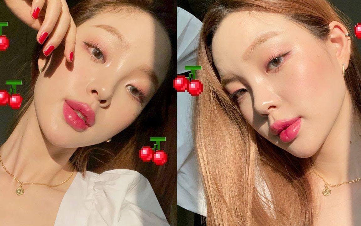 姐姐的b好多水_【 yoo\'s beauty】【中字】韩国单眼皮小姐姐教你冬日水润樱桃妆容