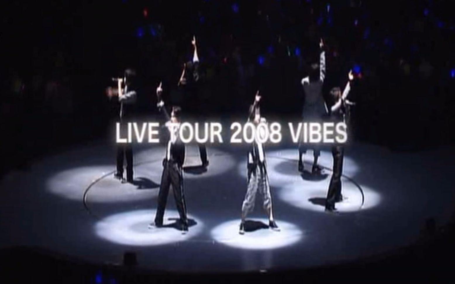 【V6】LIVE TOUR 2008 VIBES 特典映像[BGS字幕組] MC+携帶待受畵面+Special