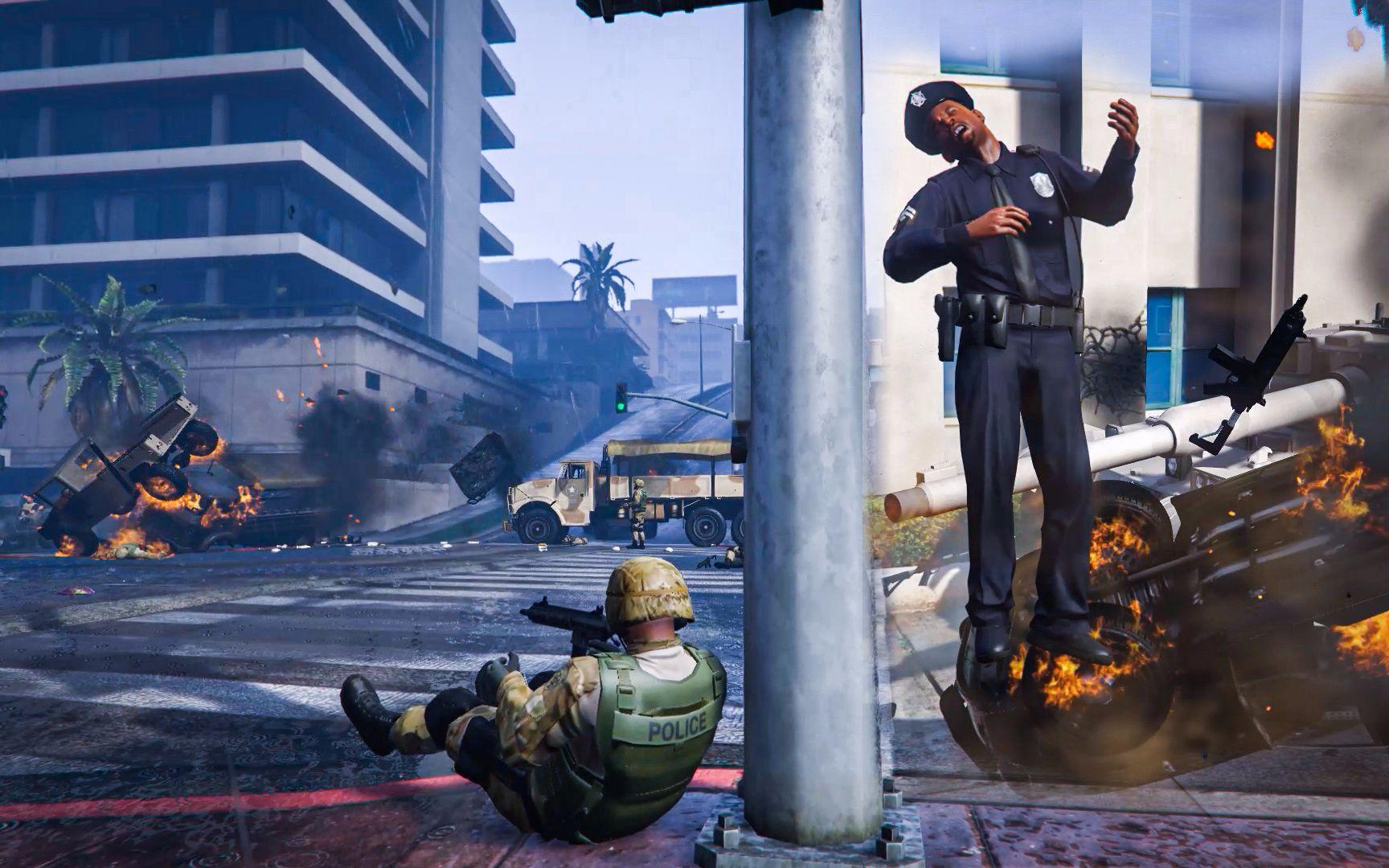 GTA5-城市战争打响 (60)