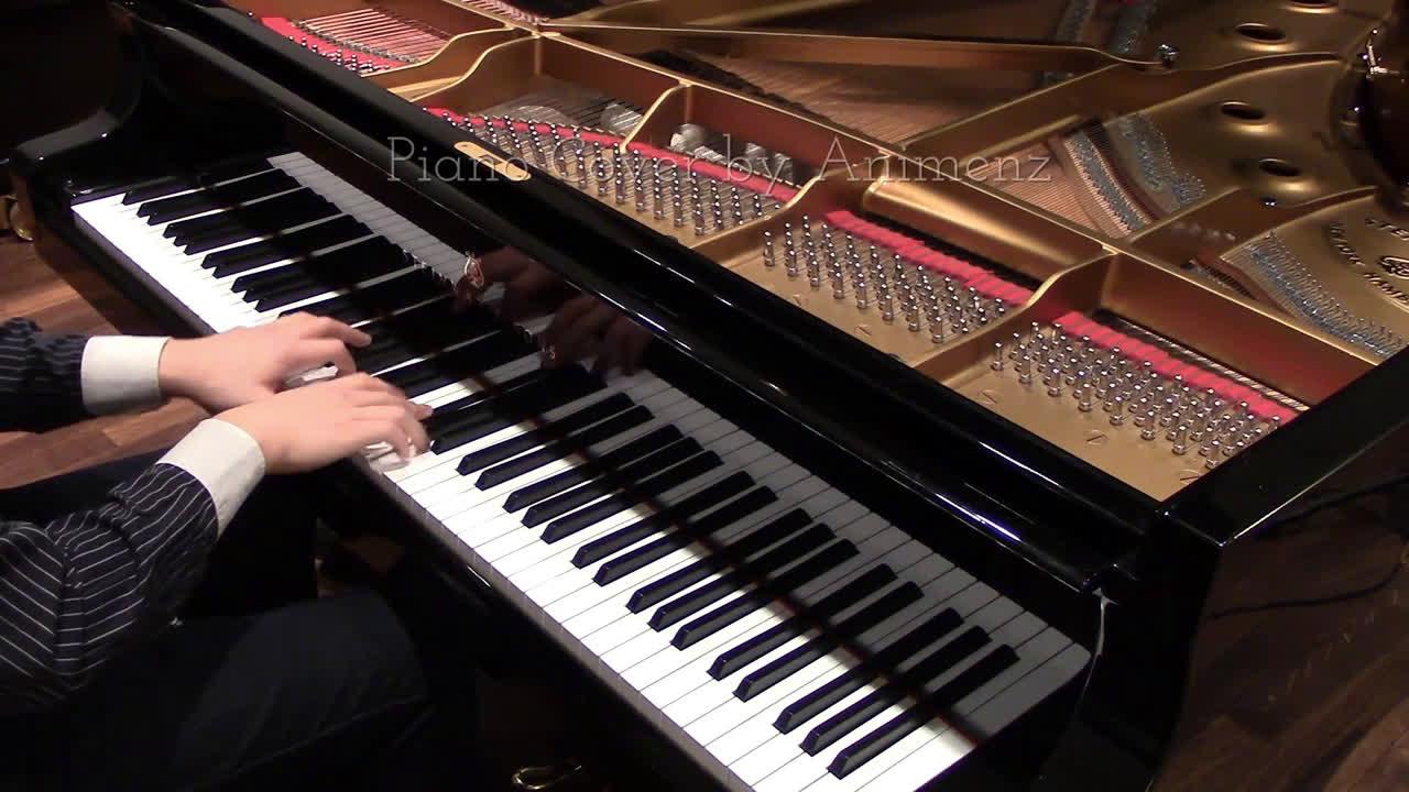 【Animenz】Departures (罪恶王冠 ED1) 钢琴