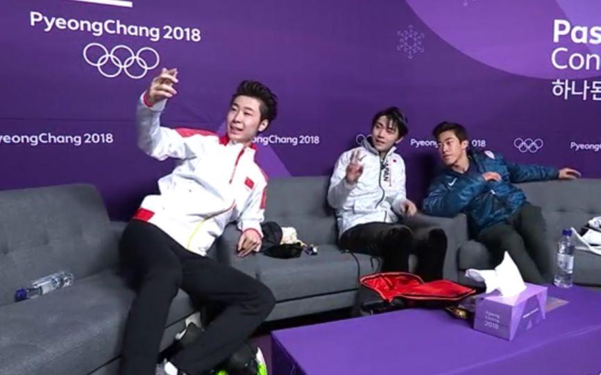央视路博_金牌不说谎:羽生结弦——为花滑而生(里面有很多花絮_哔哩 ...