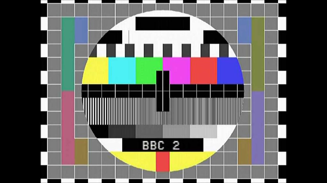 Hi' Livin' - Recreation Test Card (BBC1 September 1983 To June 1985) And BBC Sco