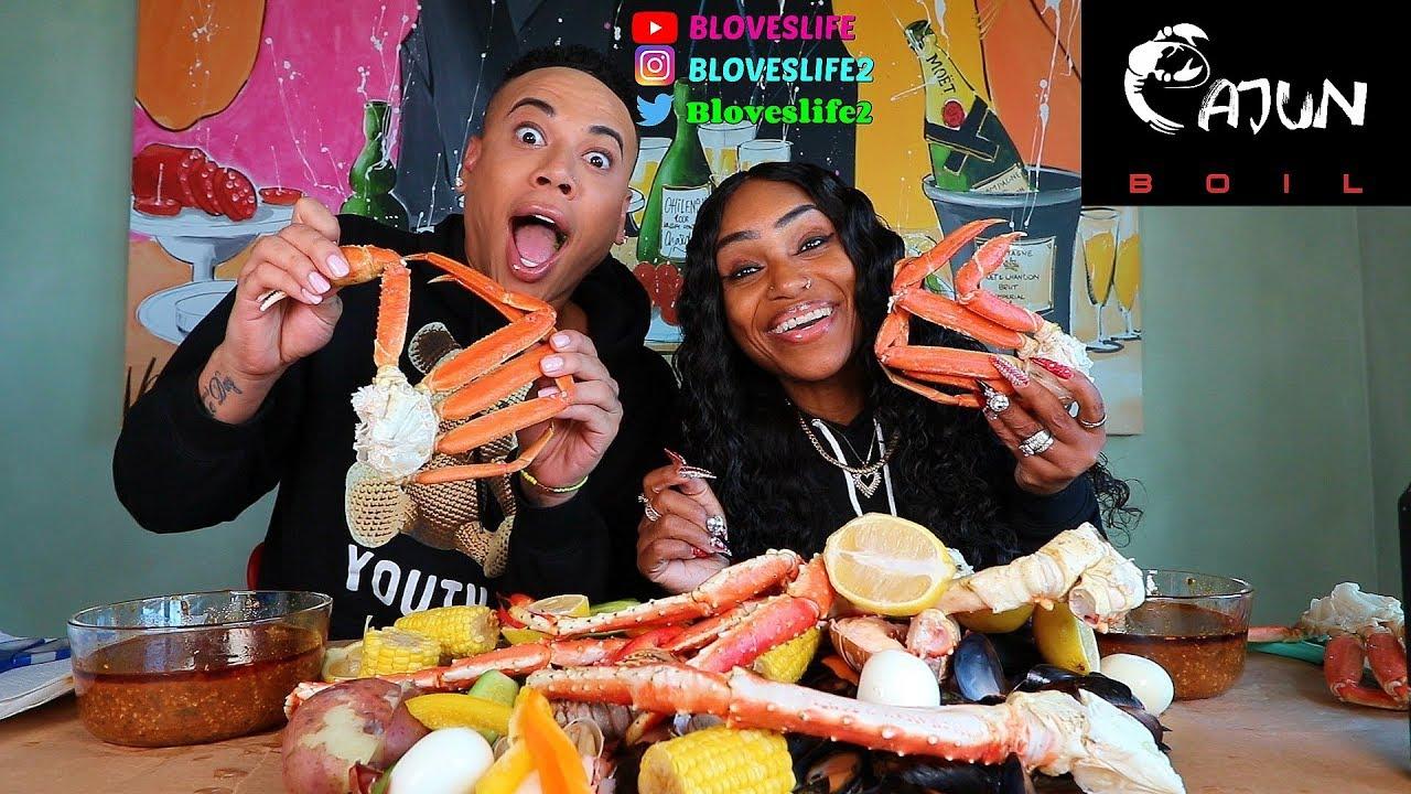 【吃蟹阿姨】迈阿密爱和嘻哈的鲍比碱液煮海鲜(2019年10月22日20时15分)