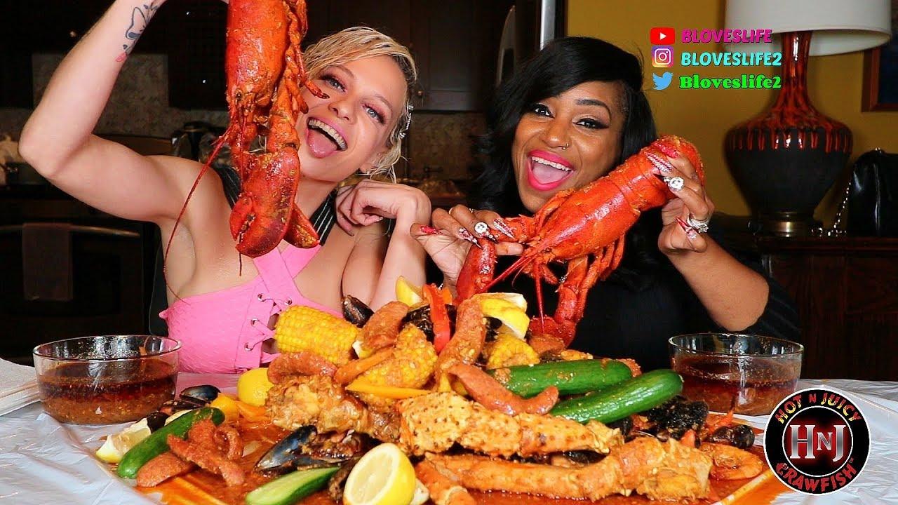 【吃蟹阿姨】纽约爱嘻哈玛丽亚林恩海鲜煲(2019年10月13日20时45分)