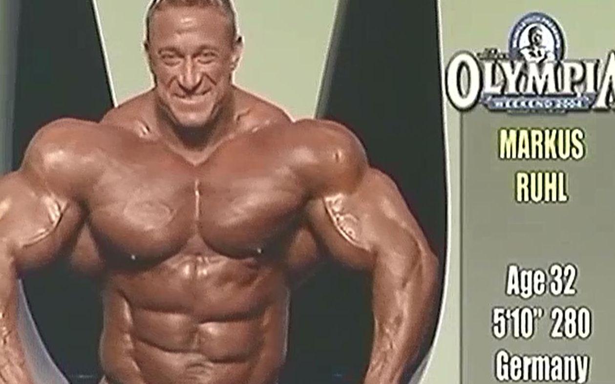 马库斯健美_世界上肌肉最恐怖,围度最大的男人,2004年奥林匹亚先生大赛--马库斯