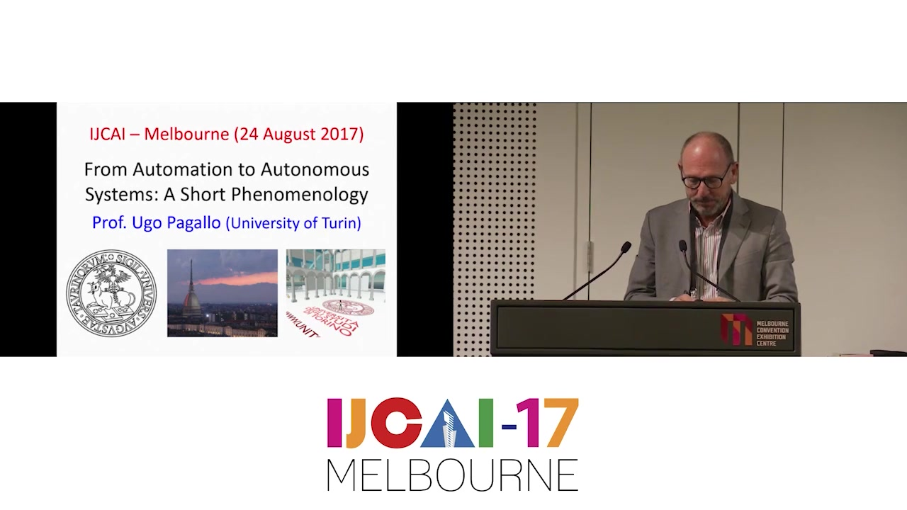 A Legal Phenomenology with Problems of Accountability - Ugo Pagallo - IJCAI17