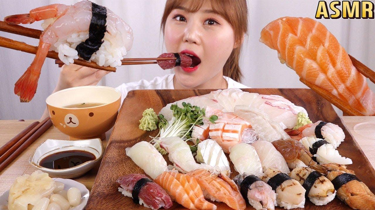 【g-ni】木桶|吃各种日本寿司和新鲜生鱼片!(生鱼片)(2019年8月20日20时16分)