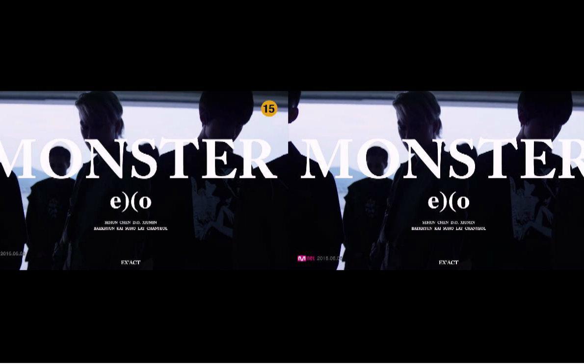 exo monster钢琴谱 图片合集