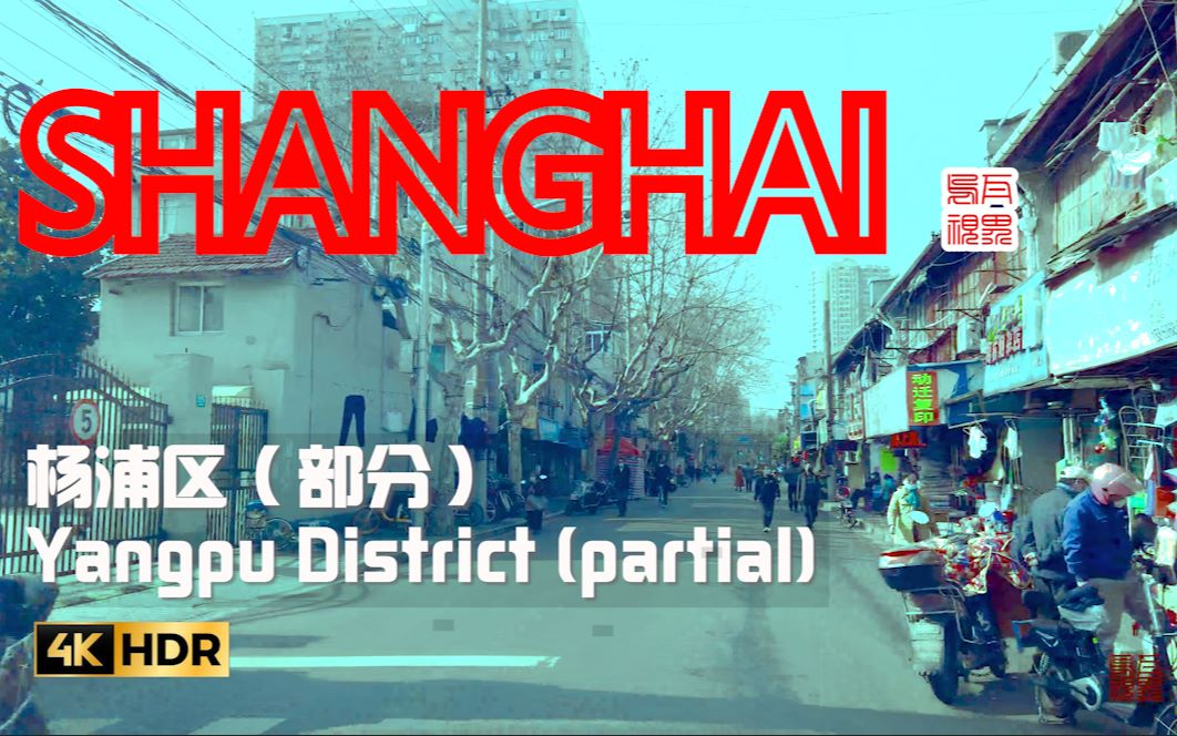 疫情下的上海交通路况:浦东张杨路、杨浦区部分街道影像记录\乌瓦漫步系列