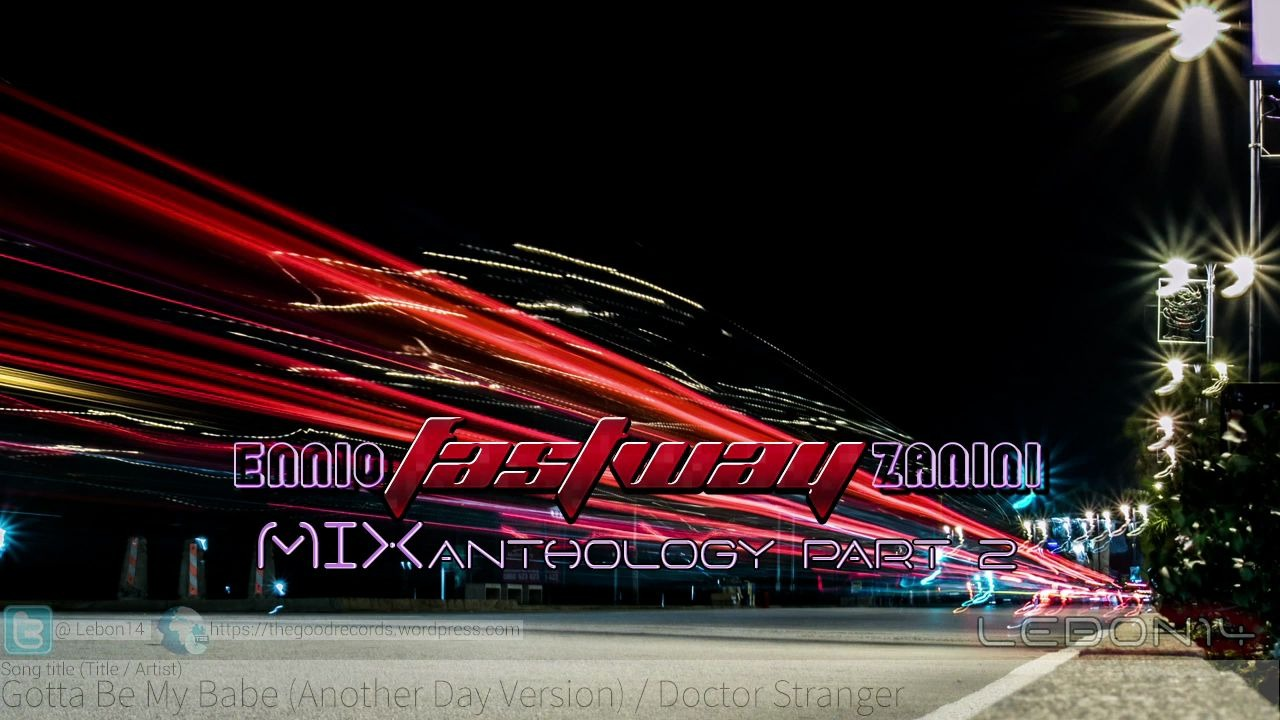 【飙车大碟】Ennio -Fastway- Zanini MIXanthology Part 2 [TGCD-0046]