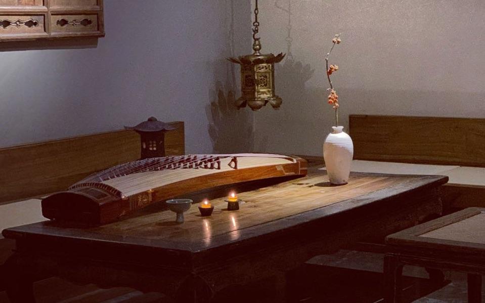 常静携琴访友篇之五蕰茶室 再见2019 相约2020 就这样安安静静的在美好的地方和美好的人在一起吧