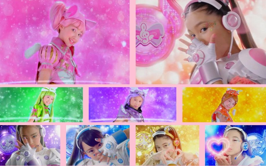 舞法天女第二季_【尬舞在召唤/混剪】舞法天女 x 偶像x战士奇迹之音 尬舞拯救世界!
