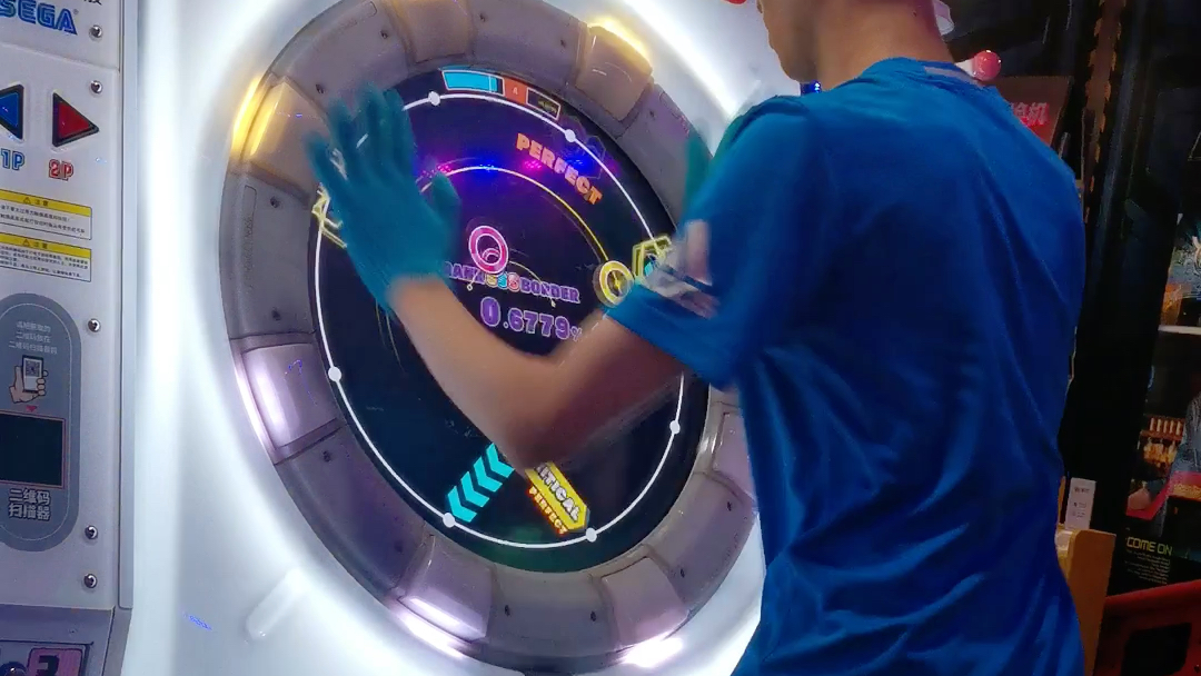 [maimaiDX]紫监狱panopticon master压线100.5
