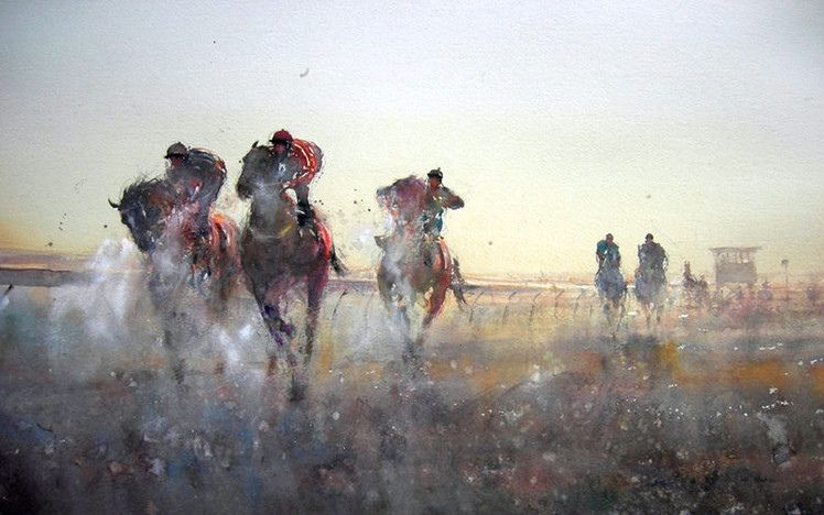 澳洲水彩画家 约瑟夫 Joseph Zbukvic 极品水彩技法教程 水彩定位