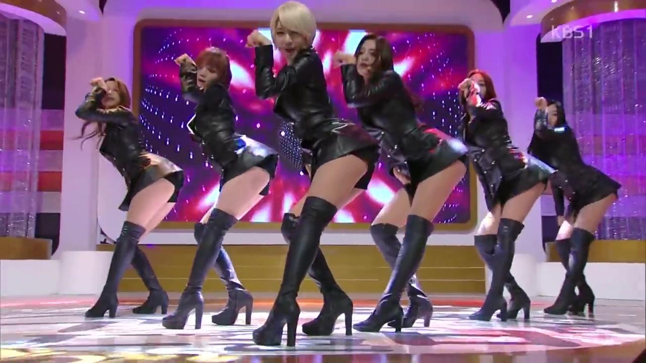 【AOA】Like a Cat(猫步轻悄)打歌舞台合集
