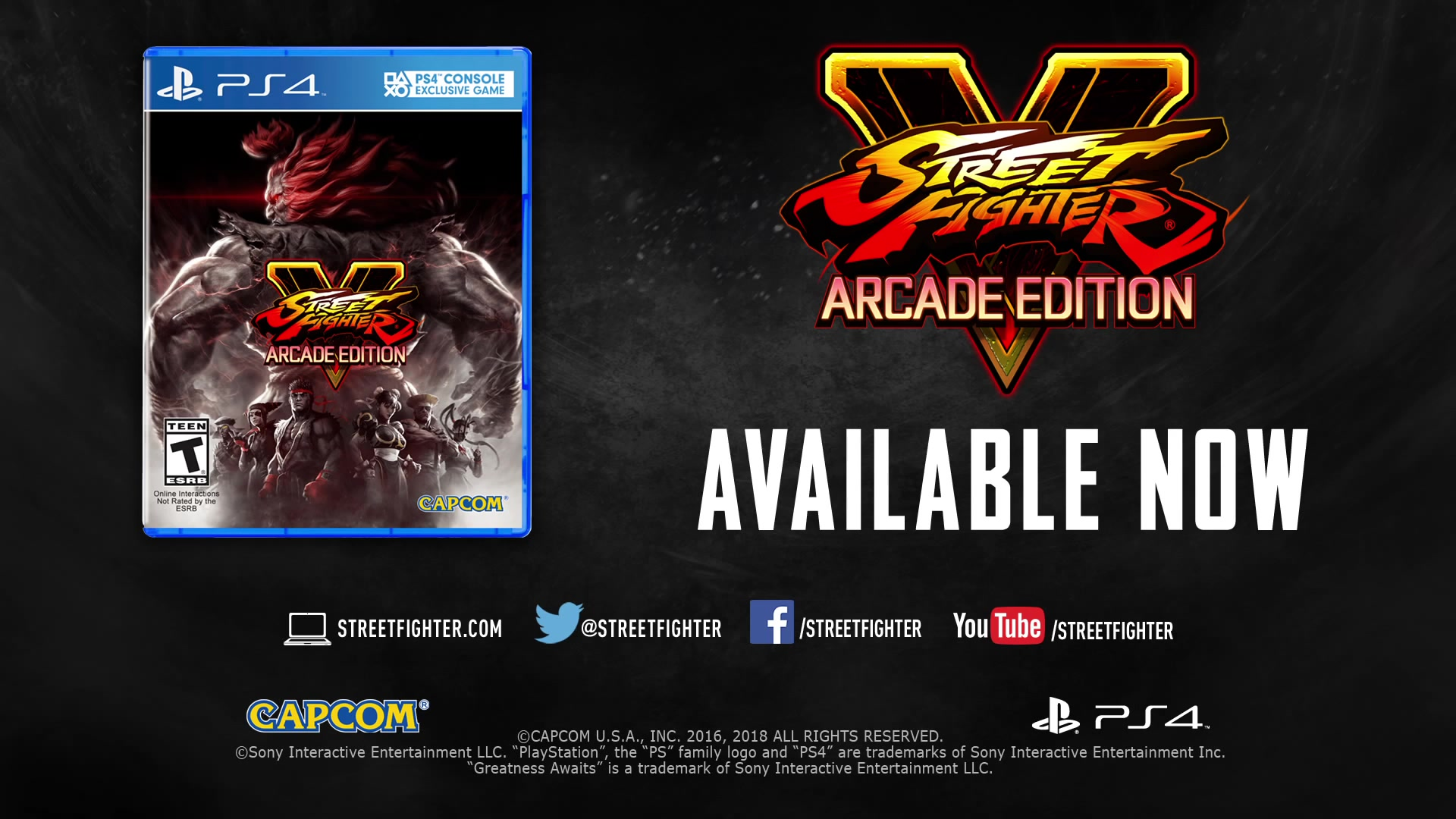 street fighter v: arcade edition launch trailer