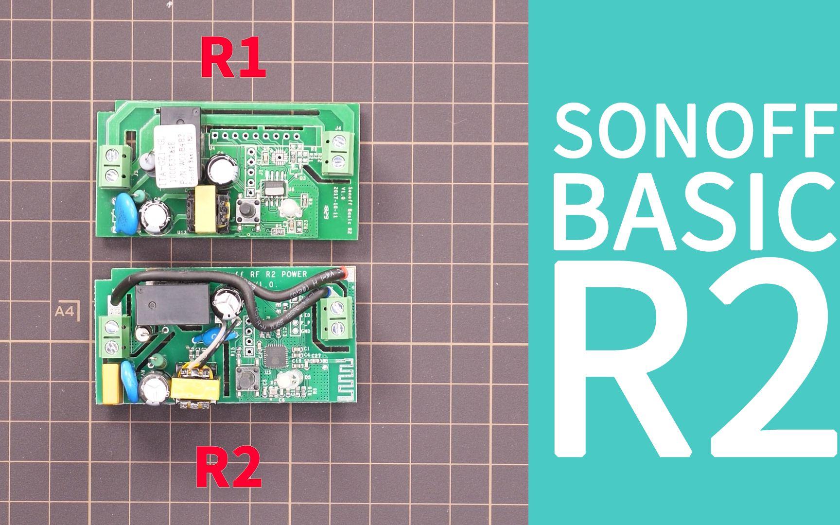Sonoff Basic Rf R2
